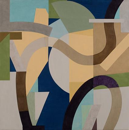 """El Árbol"" Óleo sobre lino 80 x 80 cms Pieza única (Firma al dorso) DL 29.11.19"