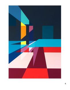 """""""Sin Título"""" 200 x 300cm Gouache acrílico y látex sobre tela pieza única 2015"""