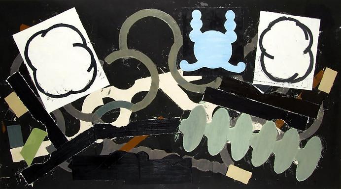 Óleo sobre tela 137 x 244 cm 2008