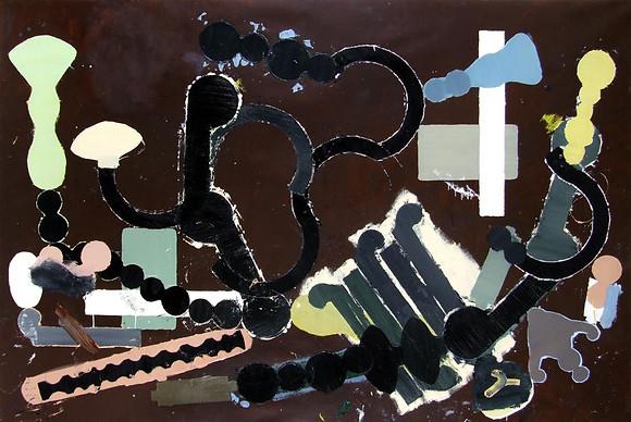Óleo sobre tela 193 x 289 cm 2005