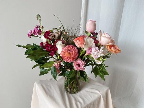 Vase arrangement - M