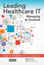 Leading Healthcare IT book by Susan Snedaker