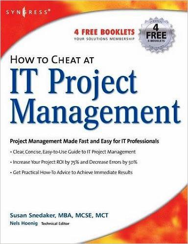 IT Project Management by Susan Snedaker