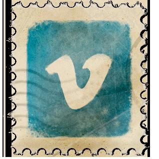 Vimeo Vintage Stamp