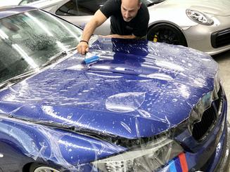 BMW car protection film