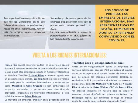 PRODUCCIONES INTERNACIONALES EN LA ESPAÑA DEL COVID.