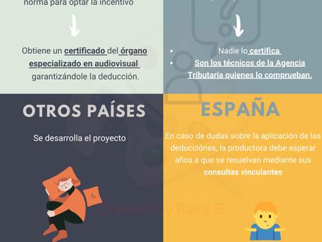 Incentivos más seguros para atraer producciones internacionales.