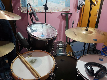 Drums recording and some cool stuff.