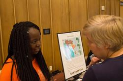Angel Harriott at Teach Africa Day