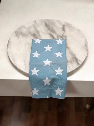 Servilleta Azul Claro con Estrellas