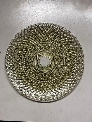 Baja Plato Dorado Espiral