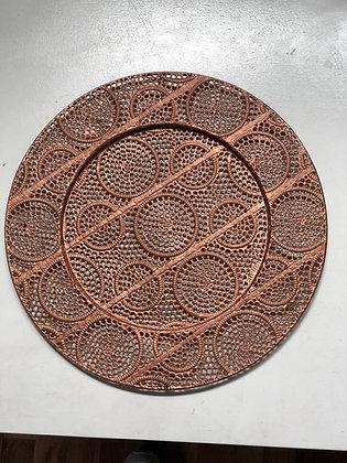 Baja Plato Rose Gold Metal