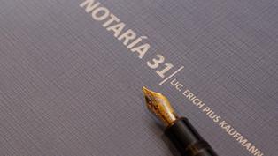 El Notario otorga autenticidad a las declaraciones que son emitidas ante él
