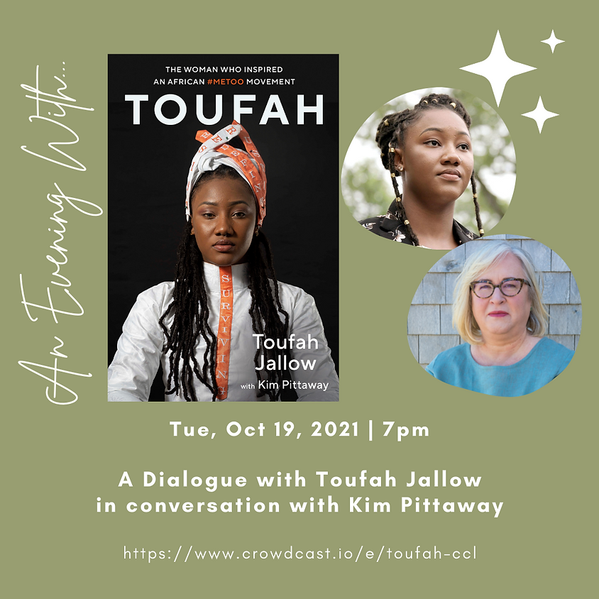 Author Talk: TOUFAH | Toufah Jallow in conversation with Kim Pittaway