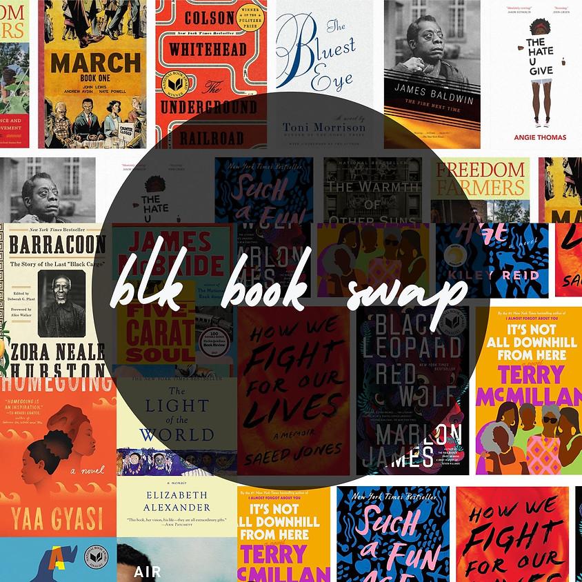*IN-PERSON* Blk Book Swap: October Pop-Up