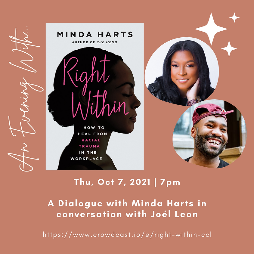 Author Talk: Right Within   Minda Harts in conversation with Joél Leon