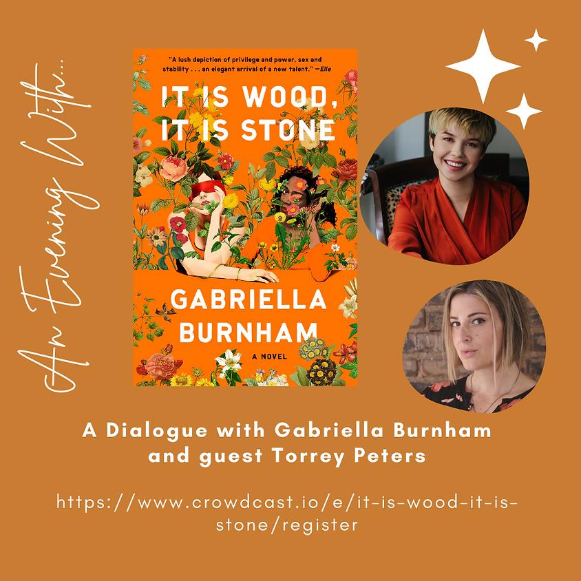 """Author Talk: Gabriella Burnham """"It Is Wood, It Is Stone"""""""