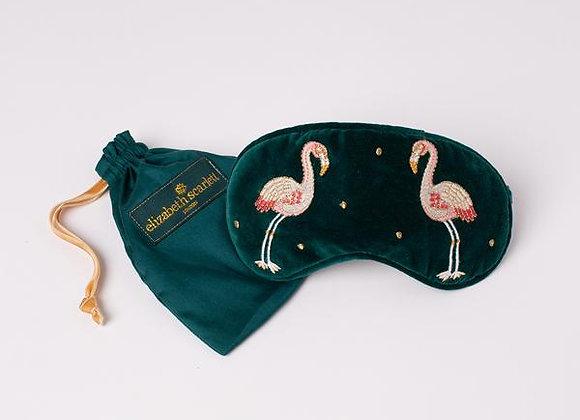 Velvet Eye Mask (Flamingo)