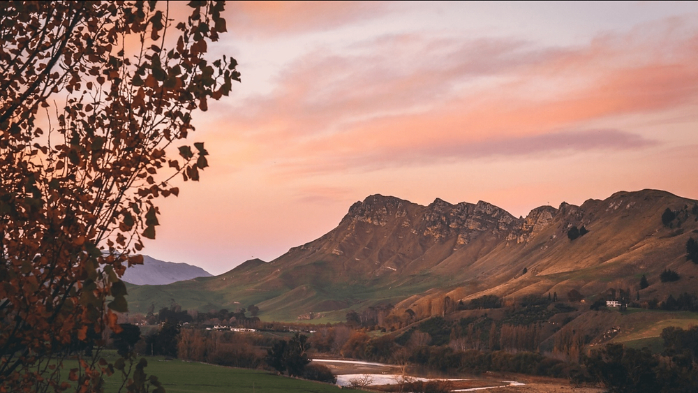 Te Mata Peak at sunset. Credit: Kirsten Simcox