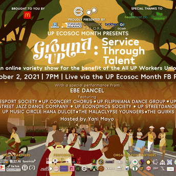 UP Ecosoc's Ground UP: Service Through Talent, A Virtual UP Reunion