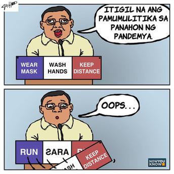 [Editorial Cartoon] DOUBLESPEAK