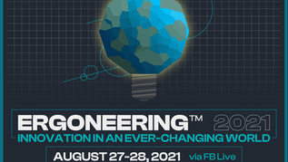 Registration Deadline Approaches for Ergoneering 2021: Innovation in an Ever-Changing World