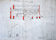 1930s plans cross-section