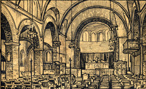 1932 - Church Interior Sketch.jpg