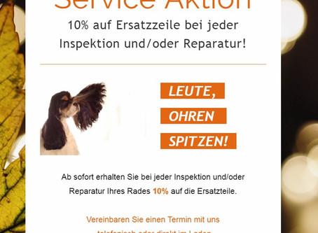 Herbst/Winter Service Aktion