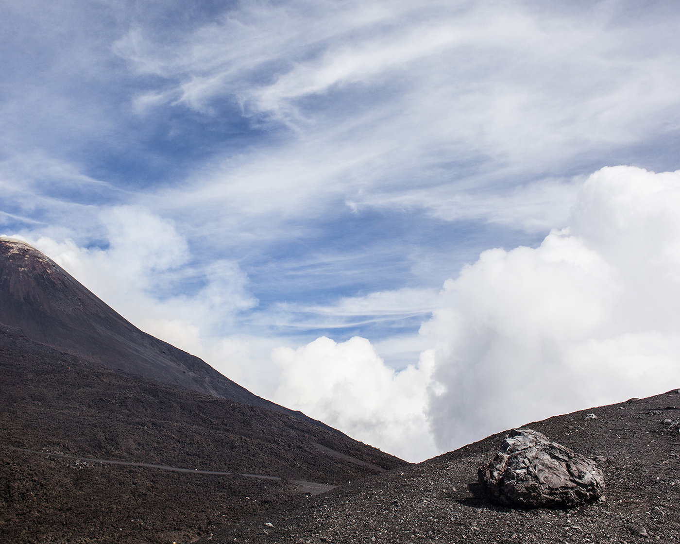 Volcano after the Storm