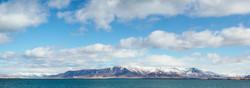Reykjavik Harbor Panorama