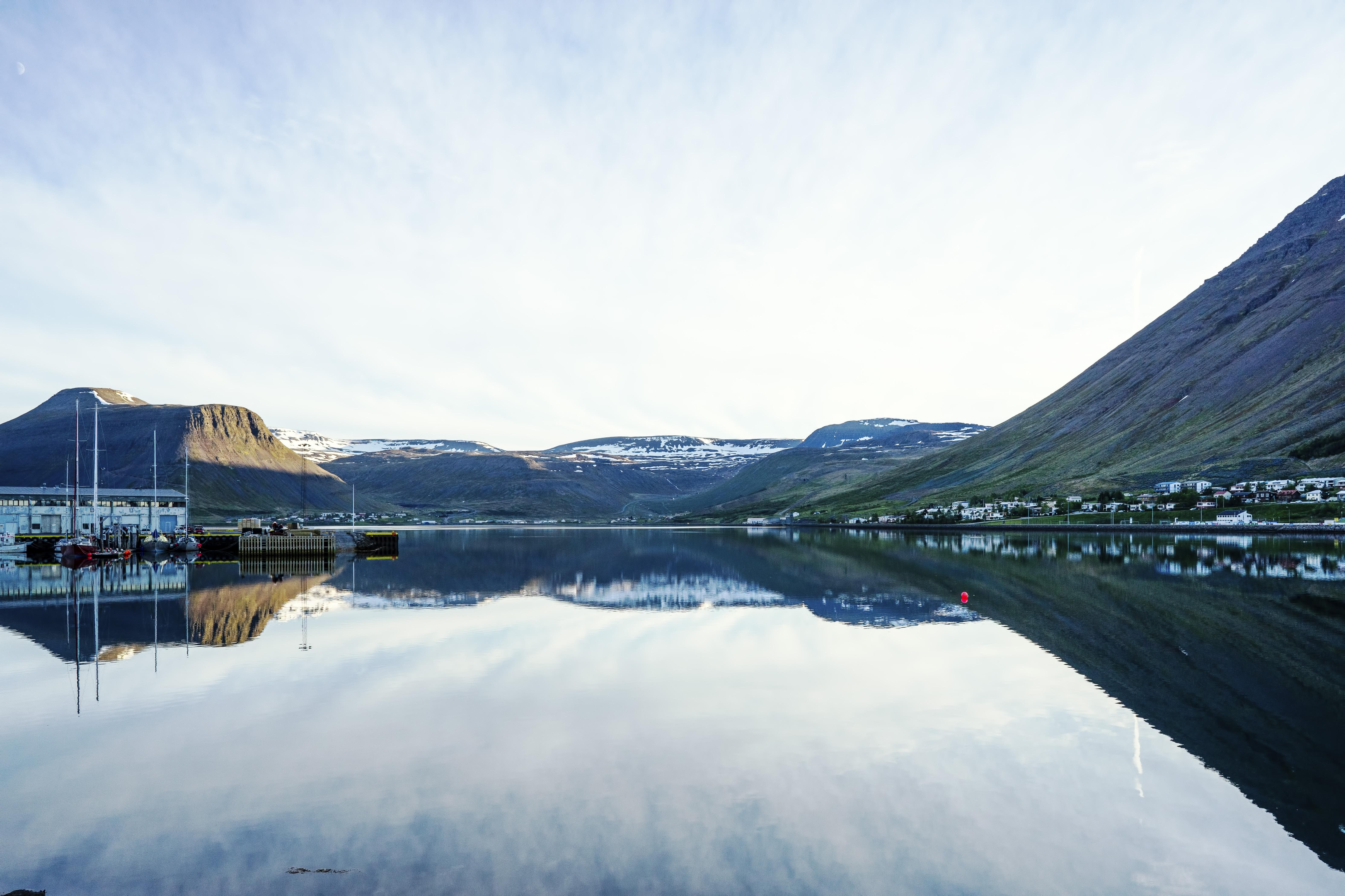 Isafjordur 11pm Summer Solstice '18