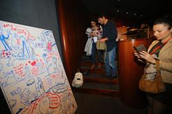 מצלמים איור בכנס  TED