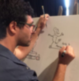 בעז פיין מאייר בהומור ובהבנה עמוקה - ליצירת תמונה כוללת של ההרצאה