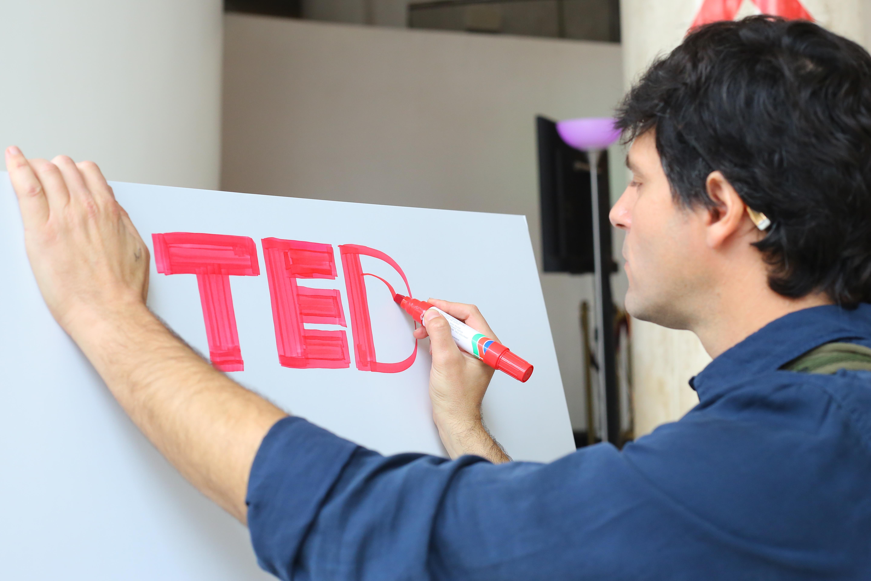 איור בכנס TED