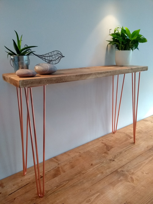 Reclaimed Timber Hall Console Table