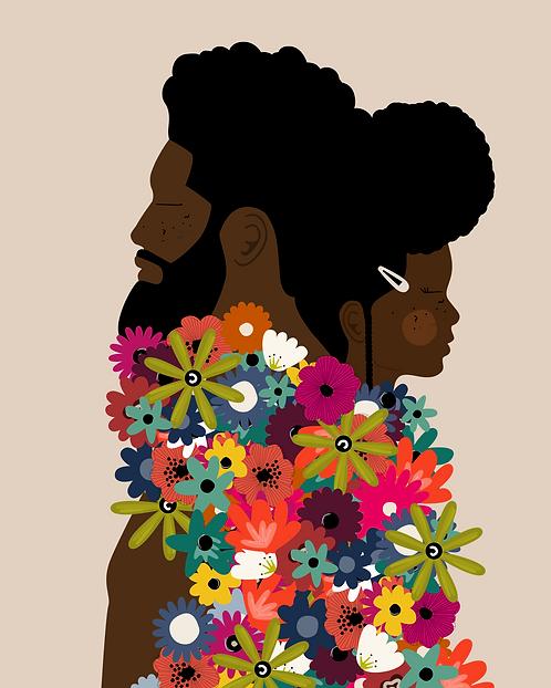 GROW TOGETHER - 8 x 10 Art Print