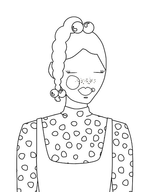 KAZ - Coloring Page Printable