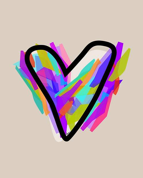 HEART - 8 x 10 Art Print