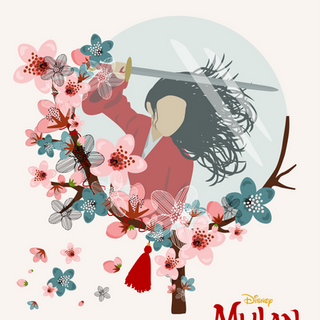 Paid project for Disney for release of Mulan (2020)