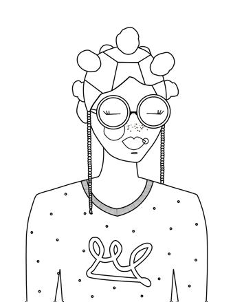 YURI - Coloring Page Printable