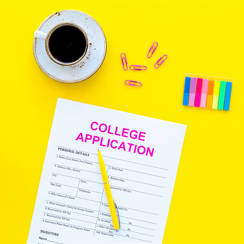 7:00PM The Roadmap to a Successful College Admissions Process
