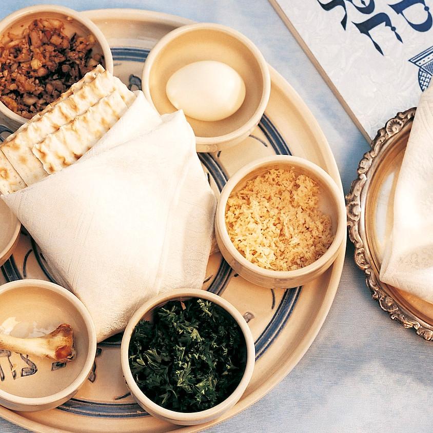 11AM: Seder 2020 Conversation with Rabbi Carie