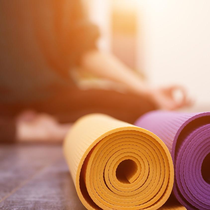 1PM: Zoom Yoga with Angela