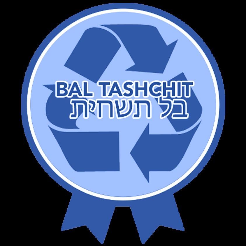 7:00PM L'ovdah ulshomrah: Environmentalism and Jewish Tradition