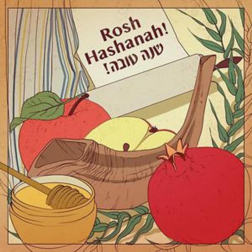 10:00AM It's Rosh Hashanah! (Zoom)