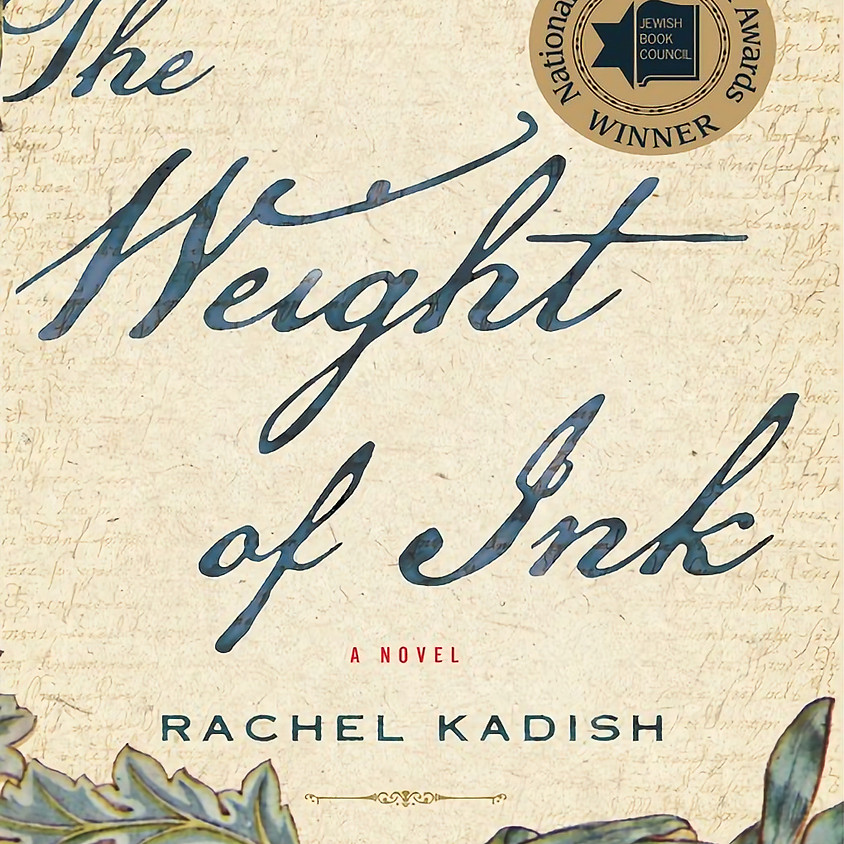 1:30PM PSJC Book Group: The Weight of Ink by Rachel Kadish