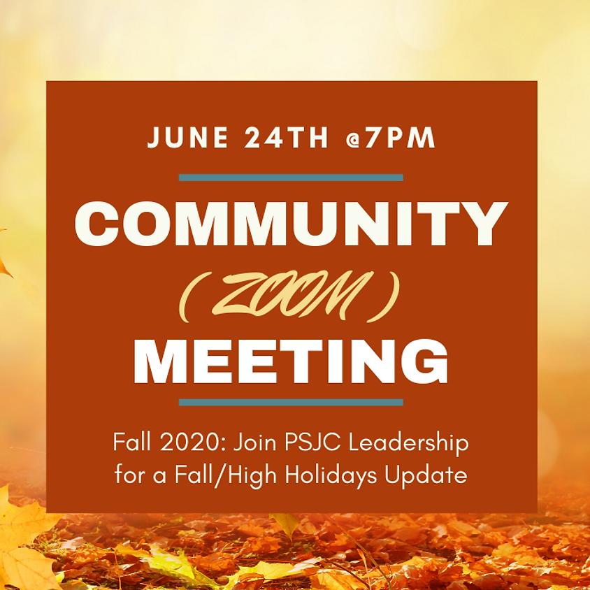 PSJC COMMUNITY MEETING