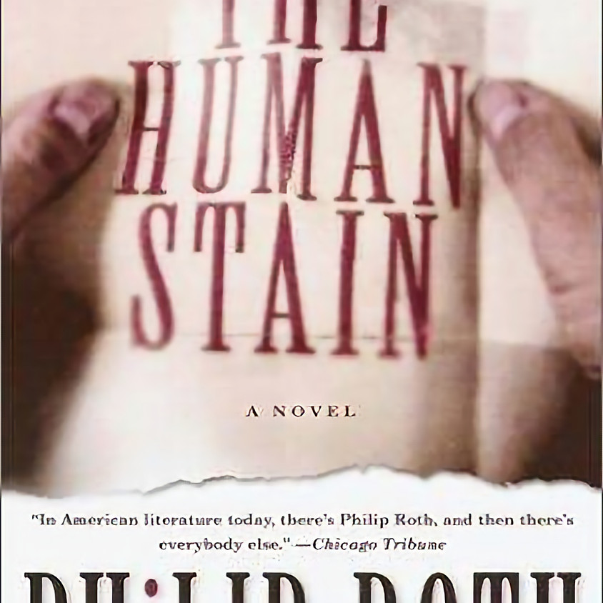1:30PM Book of Philip Roth's, The Human Stain
