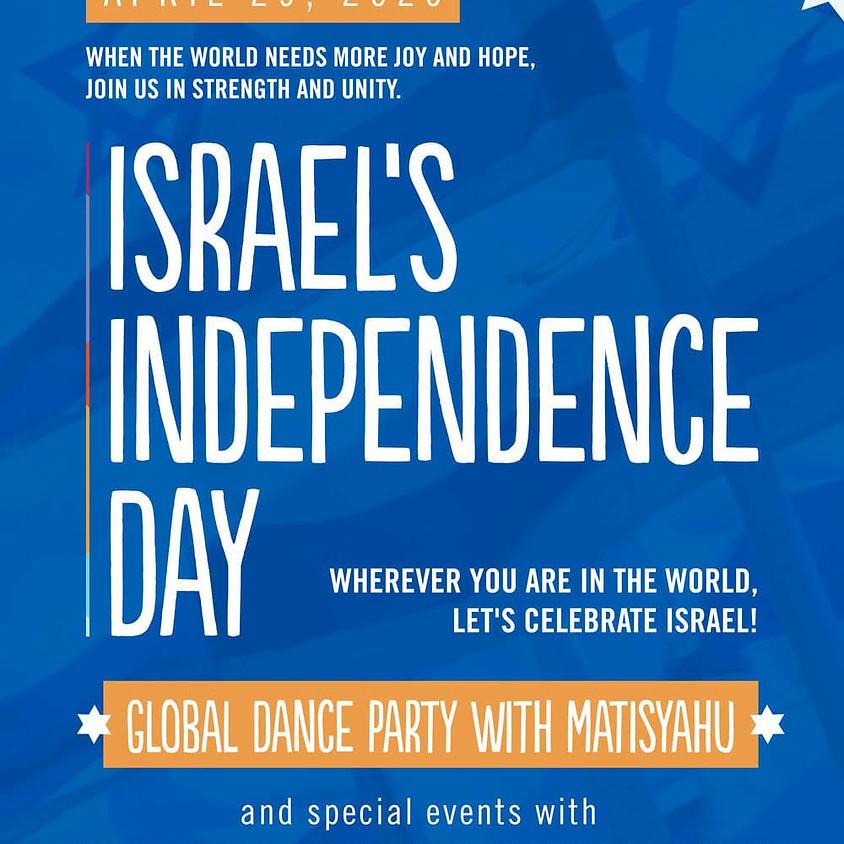 Global Yom Ha'azmut   Celebrate Israel's Independence Day!